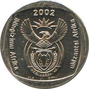 2 rand (en Zoulou et Xhosa - UMZANTSI AFRIKA) -  avers