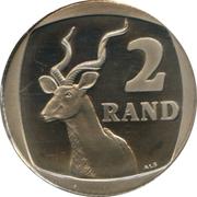2 rand (en Xhosa - UMZANTSI AFRIKA) -  revers