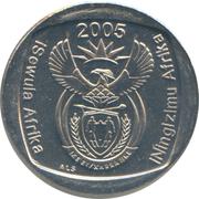 1 rand (en Ndébélé et Zoulou - ININGIZIMU AFRIKA) -  avers
