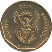 50 cents (en venda - AFURIKA TSHIPEMBE) -  avers