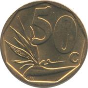 50 cents (en venda - AFURIKA TSHIPEMBE) -  revers