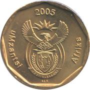 50 cents (en xhosa - UMZANTSI AFRIKA) -  avers