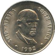 20 cents (Balthazar J. Vorster) -  avers
