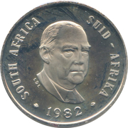 10 cents (Balthazar J. Vorster) -  avers