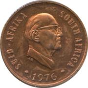 1 cent (Jacobus Johannes Fouché) -  avers