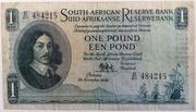 1 Pound (English - Afrikaans) – avers