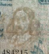 1 Pound (English - Afrikaans) -  avers