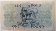 1 Pound (Afrikaans - English) – revers
