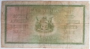 5 Pounds (English - Afrikaans) -  revers