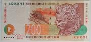 200 Rand – avers