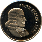 50 cents - Van Riebeeck (en anglais - SOUTH AFRICA) -  avers