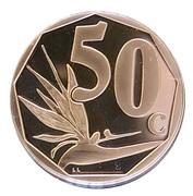 50 cents (Tshivenda - isiNdebele) -  avers