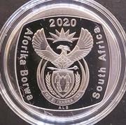2 rand (en Tswana et Anglais - SOUTH AFRICA) -  avers