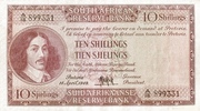 10 Shillings (English - Afrikaans) – avers