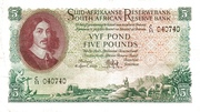 5 Pounds (Afrikaans - Englsih) – avers