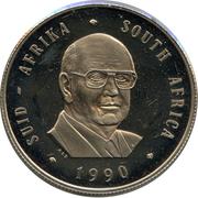 1 rand (Pieter W. Botha) -  avers