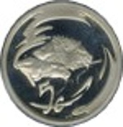 5 Cents (Lion - Predator of Africa) – revers