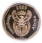 20 cents (en zoulou - ININGIZIMU AFRIKA) -  avers