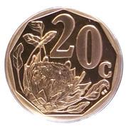 20 cents (en zoulou - ININGIZIMU AFRIKA) -  revers
