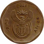 50 cents (en afrikaans - SUID AFRIKA) -  avers