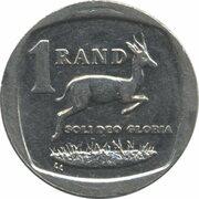 1 rand (en Zoulou et Xhosa - UMZANTSI AFRIKA) -  revers