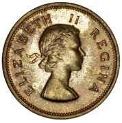 1 shilling - Elizabeth II (1ere effigie) -  avers