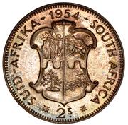 2 shillings - Elizabeth II (1ere effige) -  revers