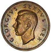 2½ shillings - George VI (Type 2) -  avers