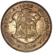 2 shillings - George VI (Type 2) -  revers