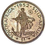 1 shilling - George VI (Type 2) – revers