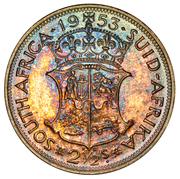 2½ shillings - Elizabeth II (1ere effigie) – revers