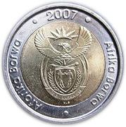5 rand (AFORIKA BORWA - AFRIKA BORWA) -  avers