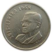 5 cents - Charles Swart (en African - SUID-AFRIKA) -  avers