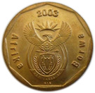 50 cents (en sepedi / sesotho - AFRIKA BORWA) – avers