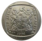 5 rand (Inauguration présidentielle) -  avers