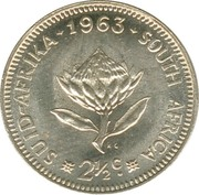 2½ cents -  revers