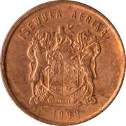 1 cent (en ndébélé - ISEWULA AFRIKA) -  avers