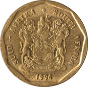 50 cents (SUID-AFRIKA - SOUTH AFRICA) -  avers