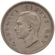 1 shilling - George VI (Type 1) – avers
