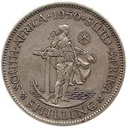1 shilling - George VI (Type 1) – revers