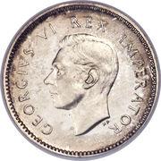 3 pence George VI – avers