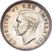 6 pence - George VI -  avers