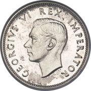 1 shilling - George VI -  avers
