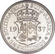 2½ shillings - George VI -  revers