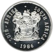 1 rand (Johannesburg) – avers