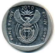 1 rand (en Anglais et Setswana - SOUTH AFRICA) -  avers