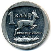 1 rand (en Anglais et Setswana - SOUTH AFRICA) -  revers