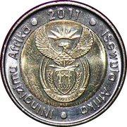5 rand (ININGIZIMU AFRIKA - ISEWULA AFRIKA) -  avers