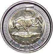 5 rand (ININGIZIMU AFRIKA - ISEWULA AFRIKA) -  revers