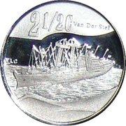 2½ cent (Histoire maritime) – revers